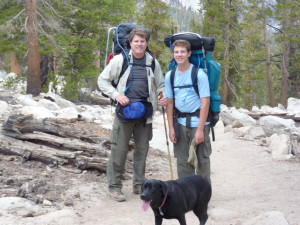 Cottonwood Lakes Backpacking Trip 2010 029