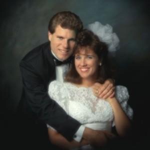 Renee  Mike portrait Wedding photo